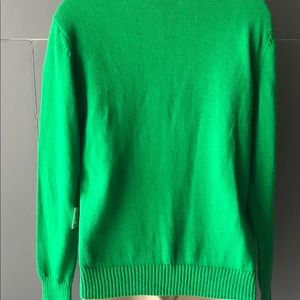 Well Worn Sweaters - Christmas Sweater Santa Claus Medium Crewneck